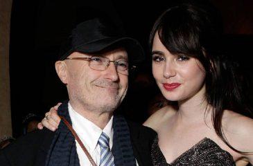 """Lily Collins a Phil Collins: """"Te perdono por no ser el padre que esperaba"""""""