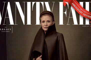 Vanity Fair celebra los 40 años de Star Wars con portada dedicada a Los últimos Jedi