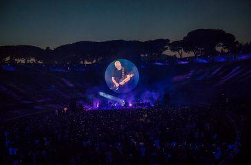 Show de David Gilmour en Pompeya llegará a los cines