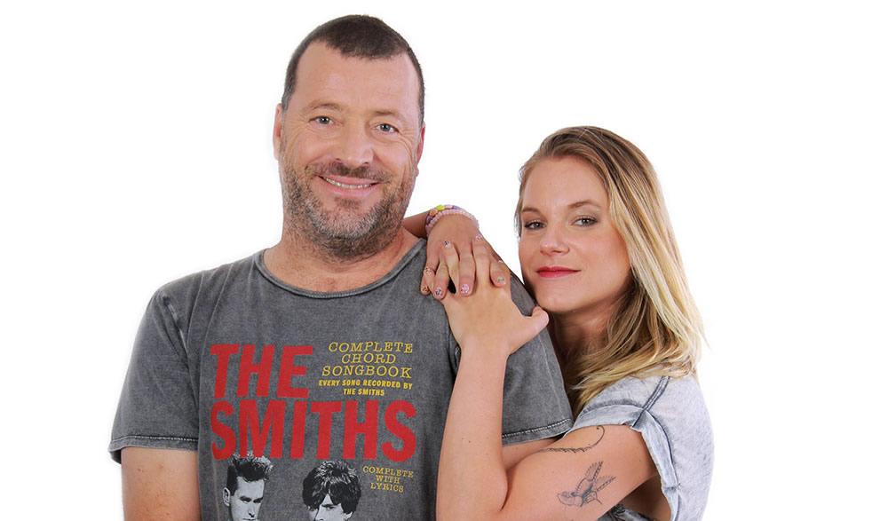 Ignacia Allamand y Pato Bauerle
