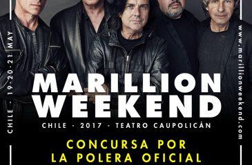 Ganadores de poleras oficiales de Marillion Weekend Chile
