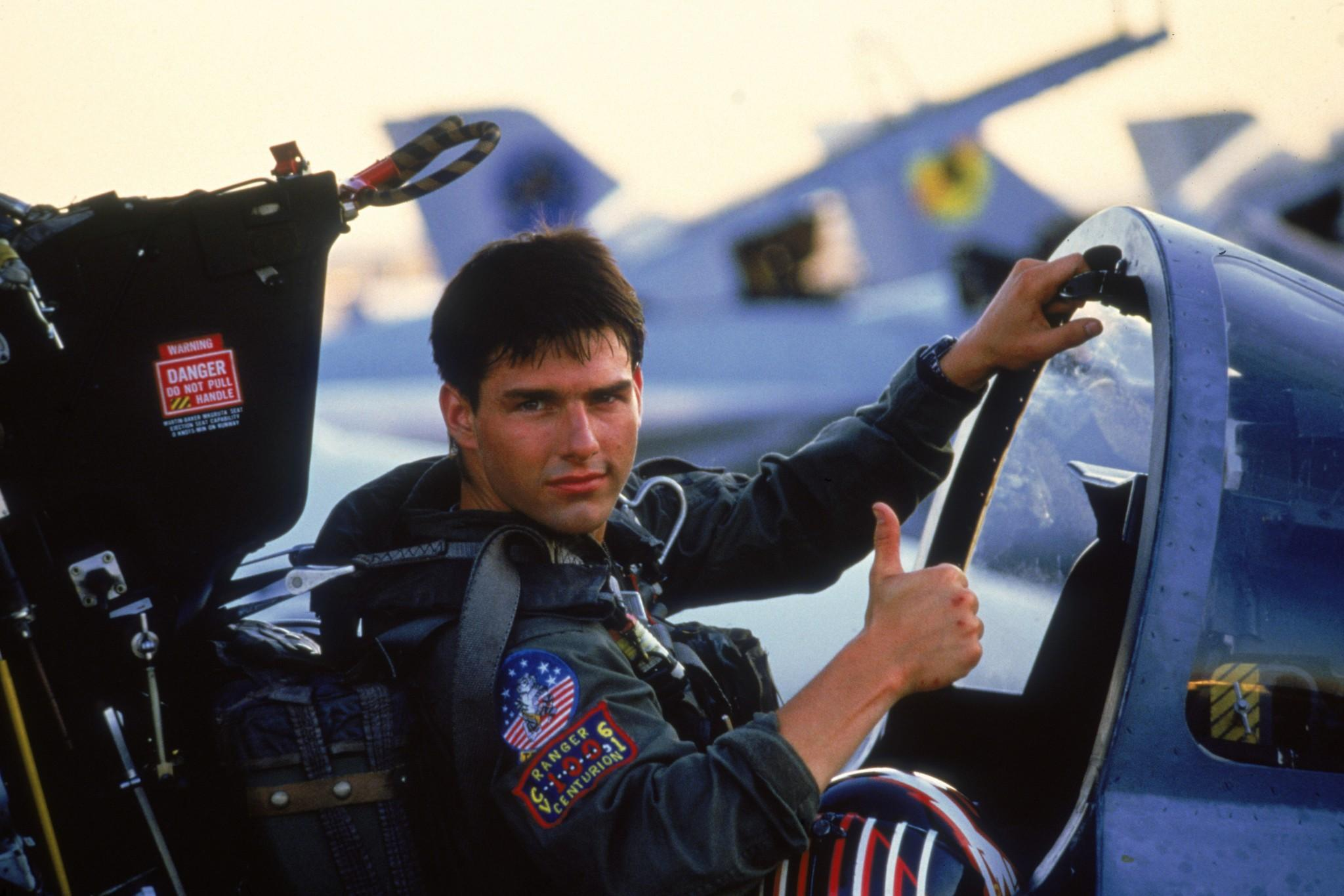 Tom Cruise confirmó que Top Gun 2 se filmará en 2018