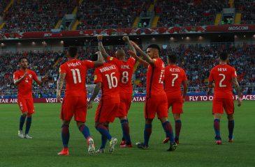 Chile iguala ante Australia y clasifica a semifinales de la Copa Confederaciones