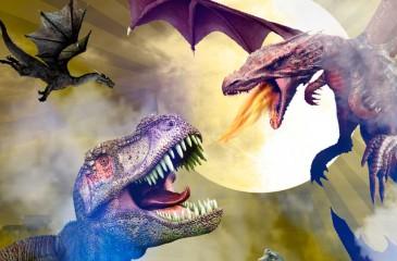"""Participa por invitaciones para la expo """"Dinosaurios y Dragones Gigantes"""""""