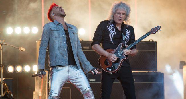 """Queen y Adam Lambert interpretan """"I Want It All"""" en el show de Kimmel"""