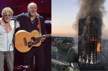 Pete Townshend, Roger Daltrey y Brian May se unen en canción benéfica para las víctimas de Grenfell Tower