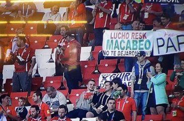 """Habló el """"macabeo"""" de la Copa Confederaciones que se convirtió en viral"""