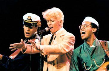 """21 de junio: Bowie llegó al número uno en EE.UU. con el single """"Let's Dance"""""""