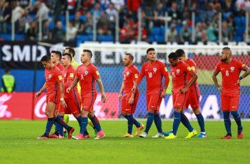 Chile cayó ante Alemania en la final de la Copa Confederaciones