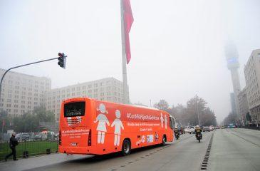 """El trolleo de Pullman Bus al """"Bus de la Libertad"""""""