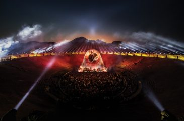 Nuevo adelanto del concierto de David Gilmour en Pompeya