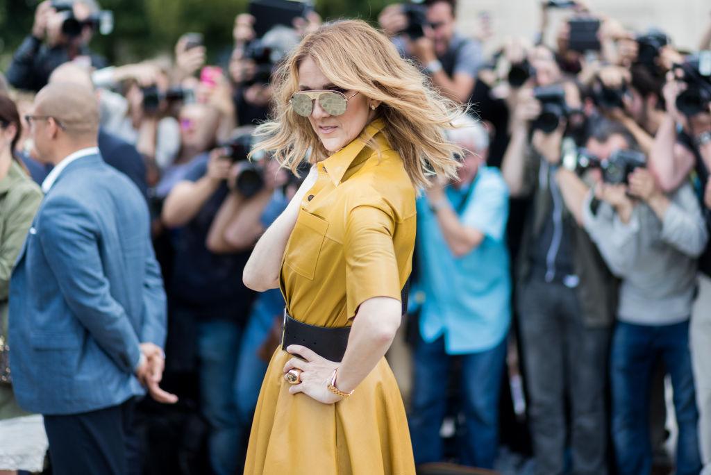 Celine Dion posa desnuda en la revista Vogue