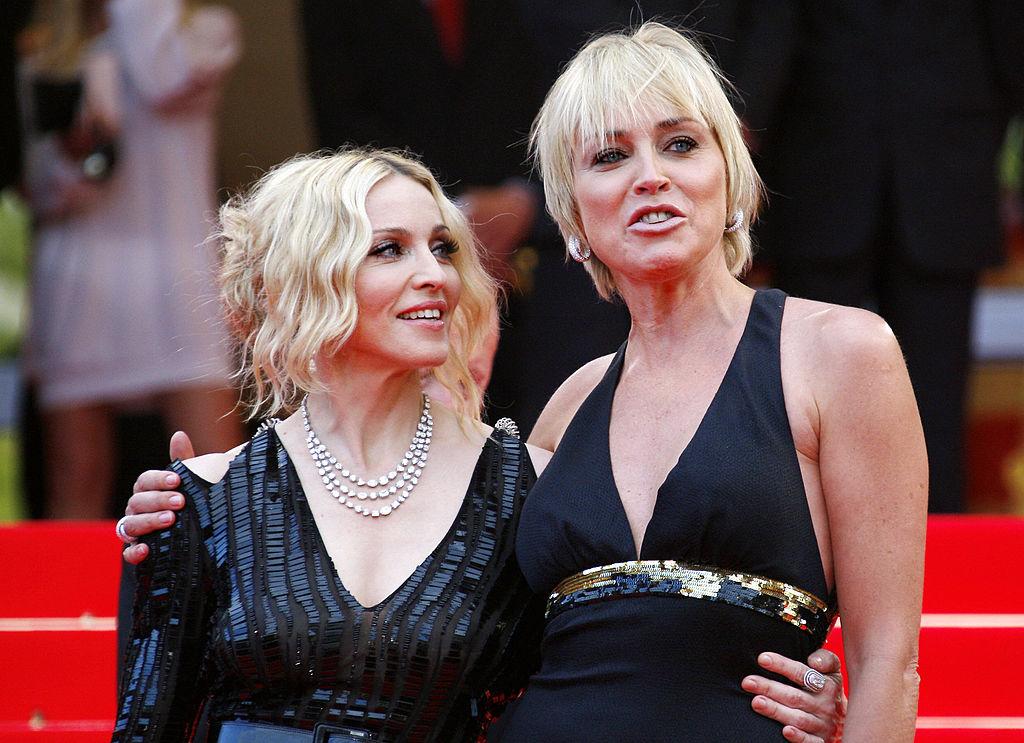Sharon Stone le contesta a Madonna tras llamarla mediocre
