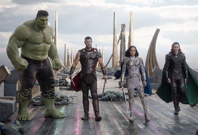 Más acción en Thor: Ragnarok