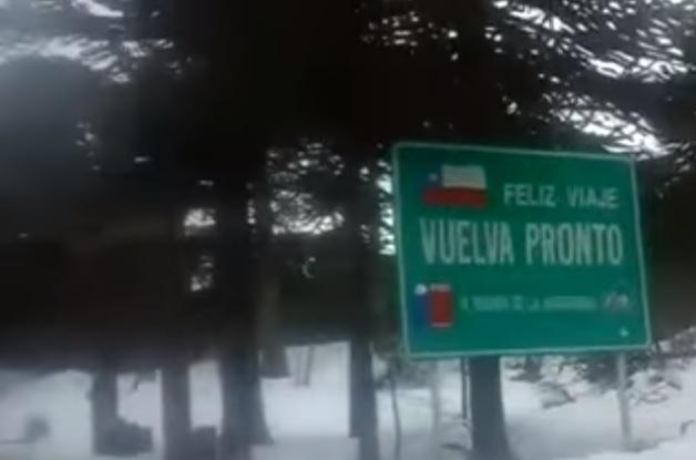 Las tristes diferencias con Chile de un paso fronterizo