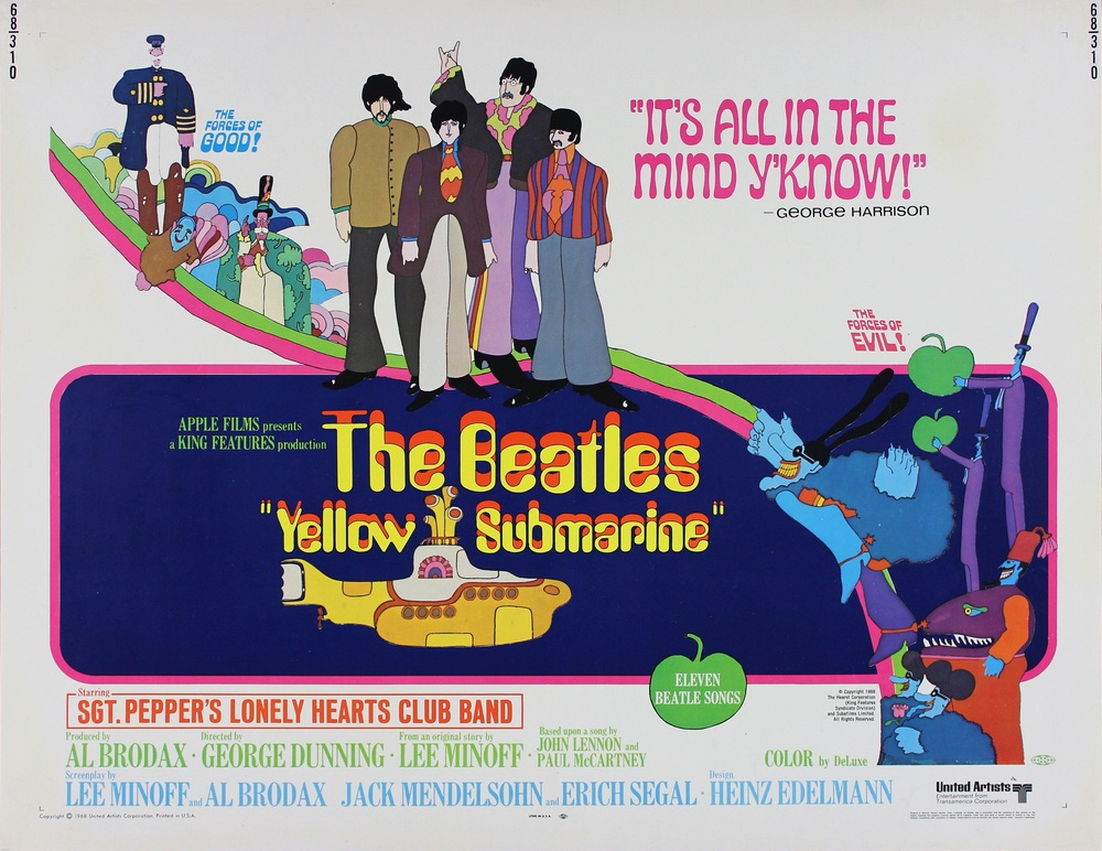 The Beatles tendrán comic de su álbum Yellow Submarine