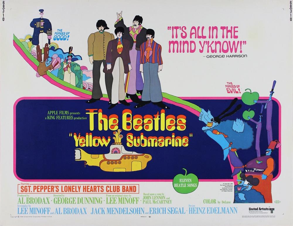 Lanzarán un cómic inspirado en Yellow Submarine de The Beatles