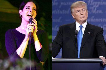 Lana Del Rey intentó usar brujería para frenar llegada de Donald Trump a la presidencia