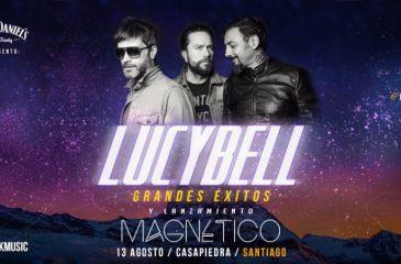 Lucybell realizará concierto de lanzamiento de su nuevo álbum Magnético
