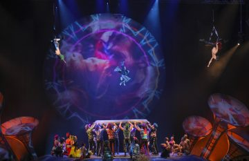 La premiere de Sép7imo Día de Soda Stereo y Cirque Du Soleil