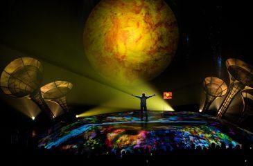 Comenzó la residencia de Sép7imo Día de Soda Stereo y Cirque Du Soleil en Santiago