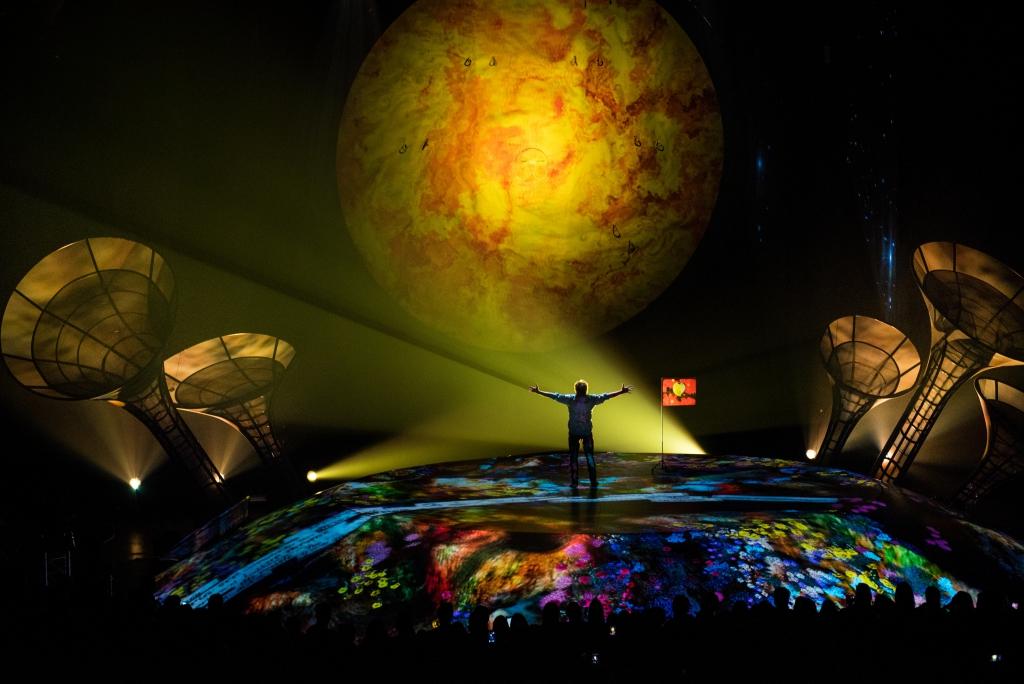 El Cirque du Soleil ya aterrizó en Chile con Sép7imo Día