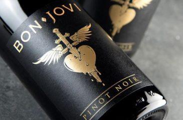 ¿Sabías que Bon Jovi tiene su propia línea de vinos?
