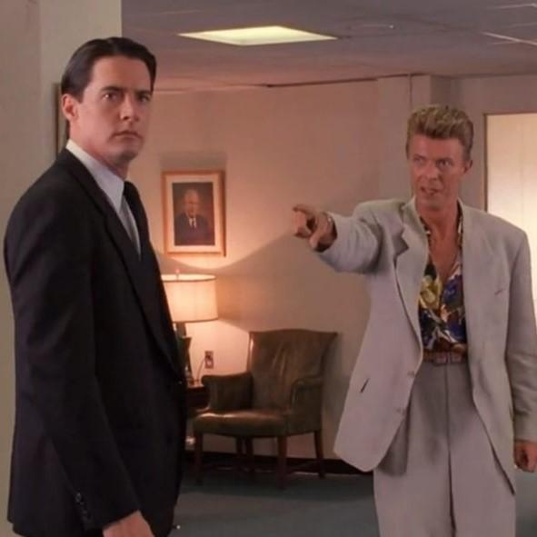 David Bowie apareció en