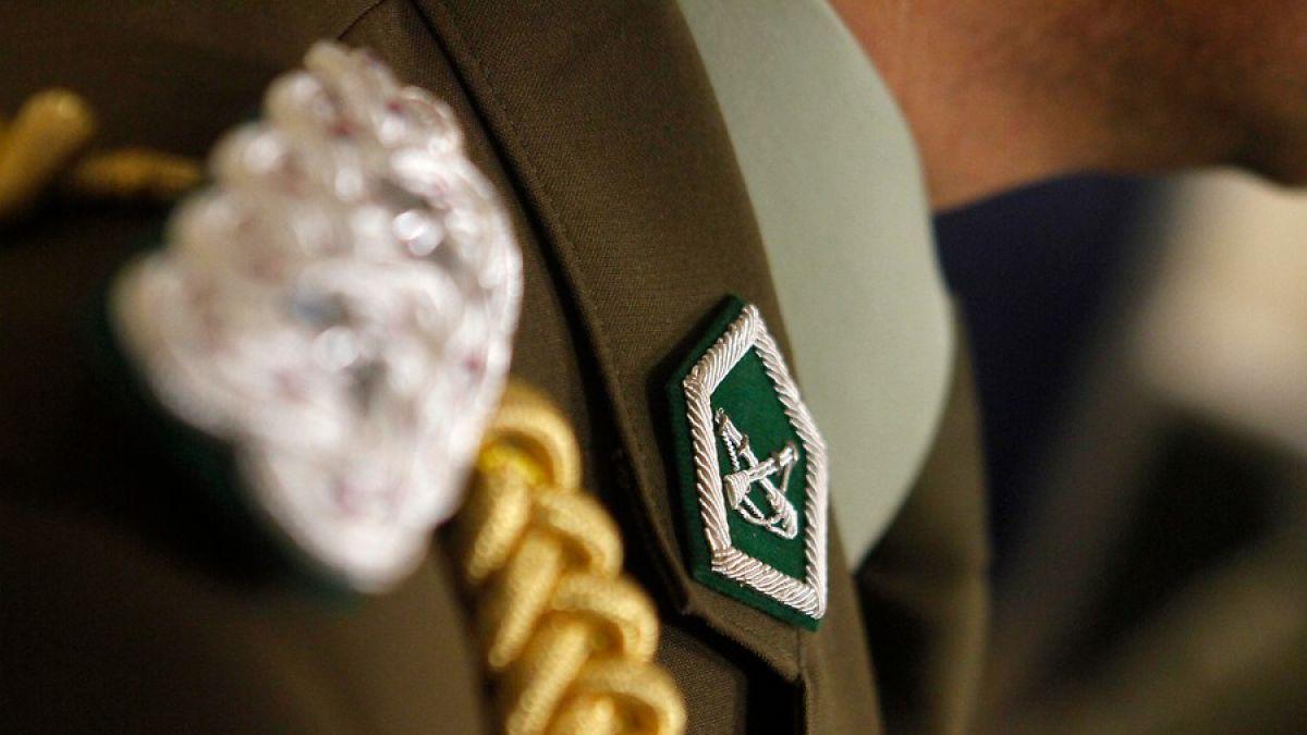 Locademia de Policía: Detienen a carabinero por robarle a un coronel