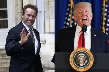 Arnold Schwarzeneger le enseña a Trump a condenar a los neo nazis