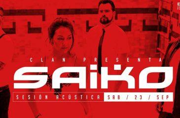 Saiko en clave acústica en Bar El Clan