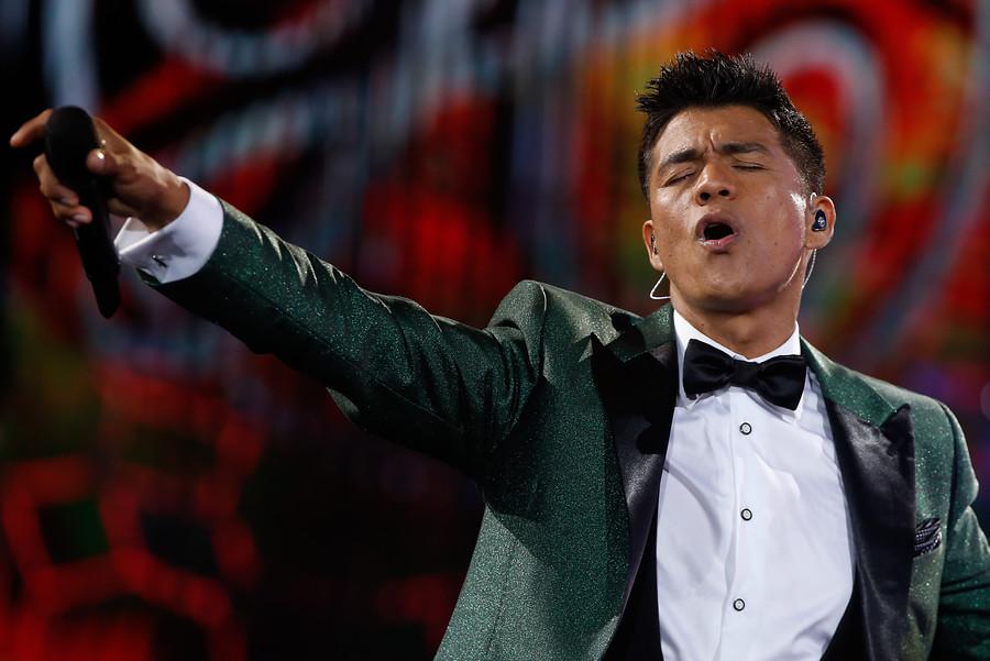 Américo cantará el himno de la venida del Papa a Chile