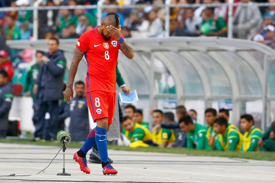 Insultos y la casi despedida de Arturo Vidal contra Bolivia