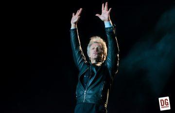 Bon Jovi deleitó a su fanaticada local en su regreso a Chile