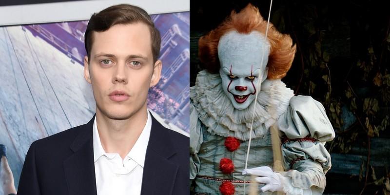 Actor de 'It' demostró que puede ser igual de aterrador sin maquillaje