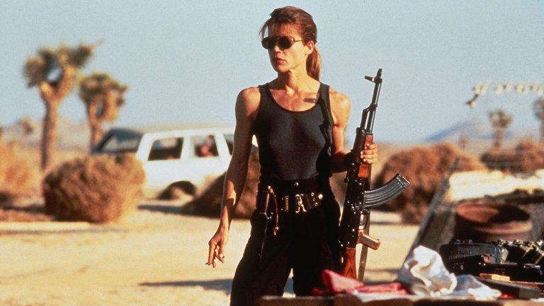 Linda Hamilton regresará para una nueva película — Terminator