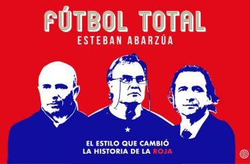 Fútbol Total, nuevo libro del periodista Estaban Abarzúa