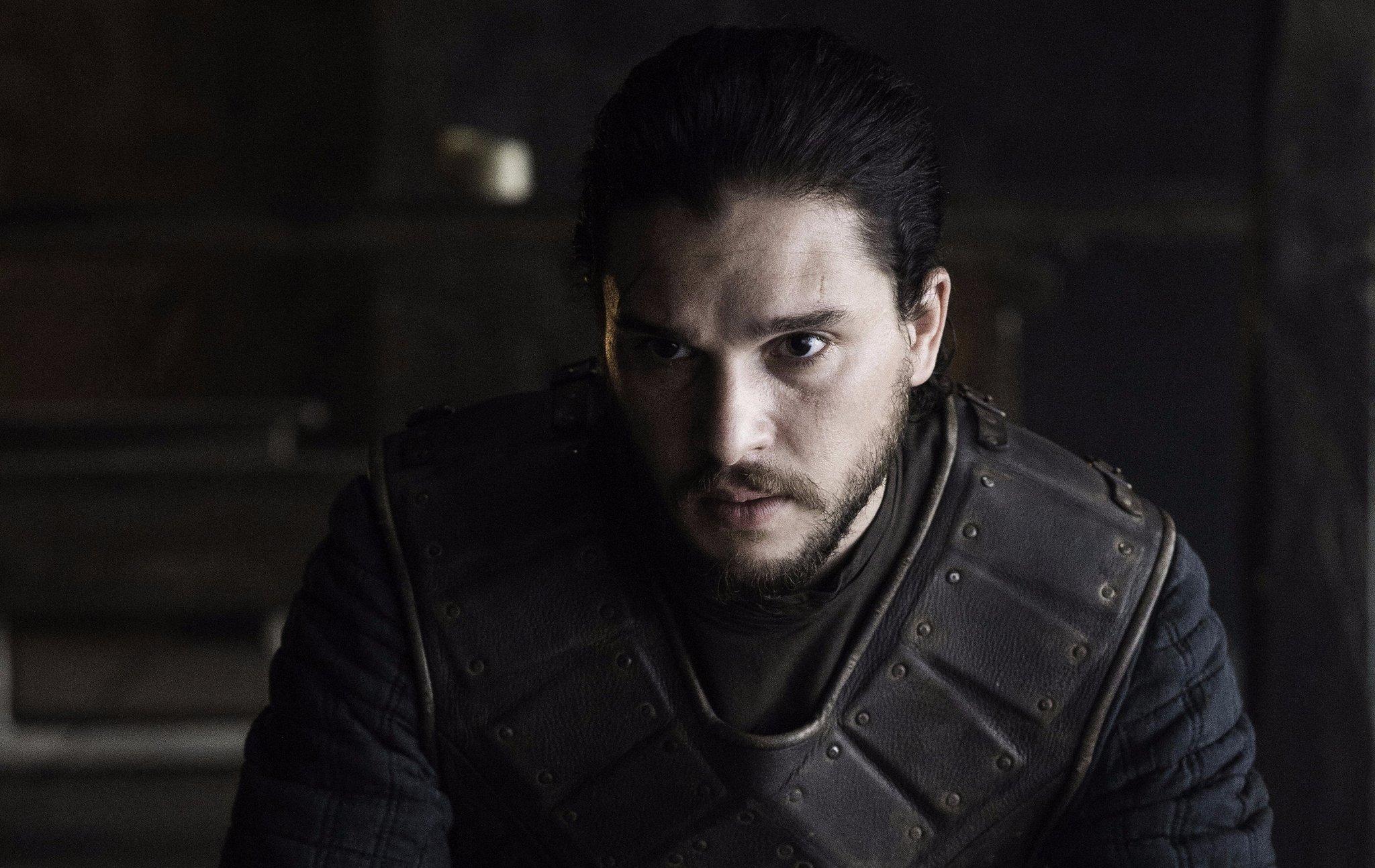 ¡Kit Harington fue a una fiesta de disfraces vestido de Jon Snow!