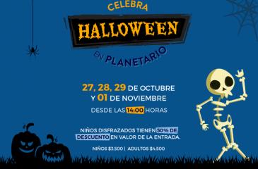 Halloween en Planetario
