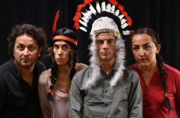 Obra Noche Mapuche en el GAM