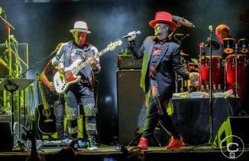 El esperado debut de Culture Club en Chile