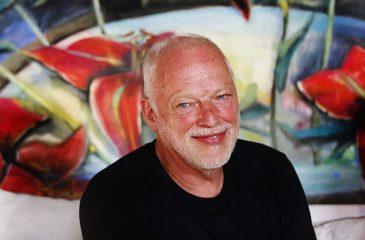 David Gilmour se encuentra de vacaciones en Chile