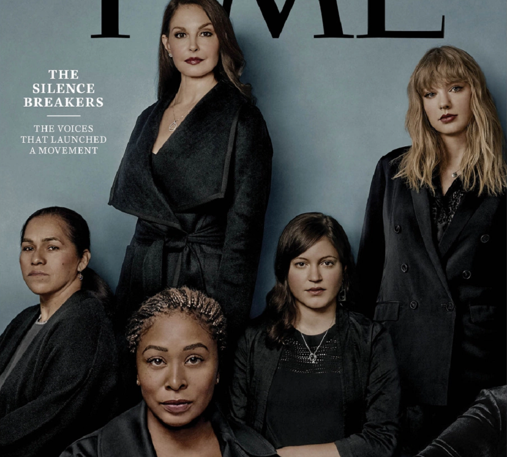 'Time' designa 'Persona del año' a las mujeres que denuncian acoso sexual