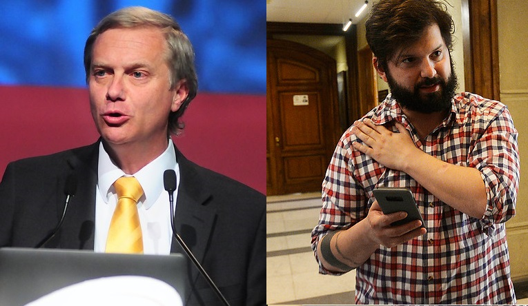 Boric y Kast protagonizaron round tuitero tras indulto a Fujimori