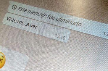 El truco para ver qué decían los mensajes eliminados de WhatsApp