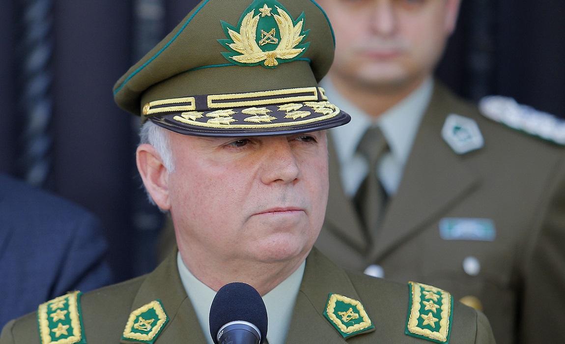 Fiscalía decide formalizar a ex general director Eduardo Gordon — Fraude en Carabineros