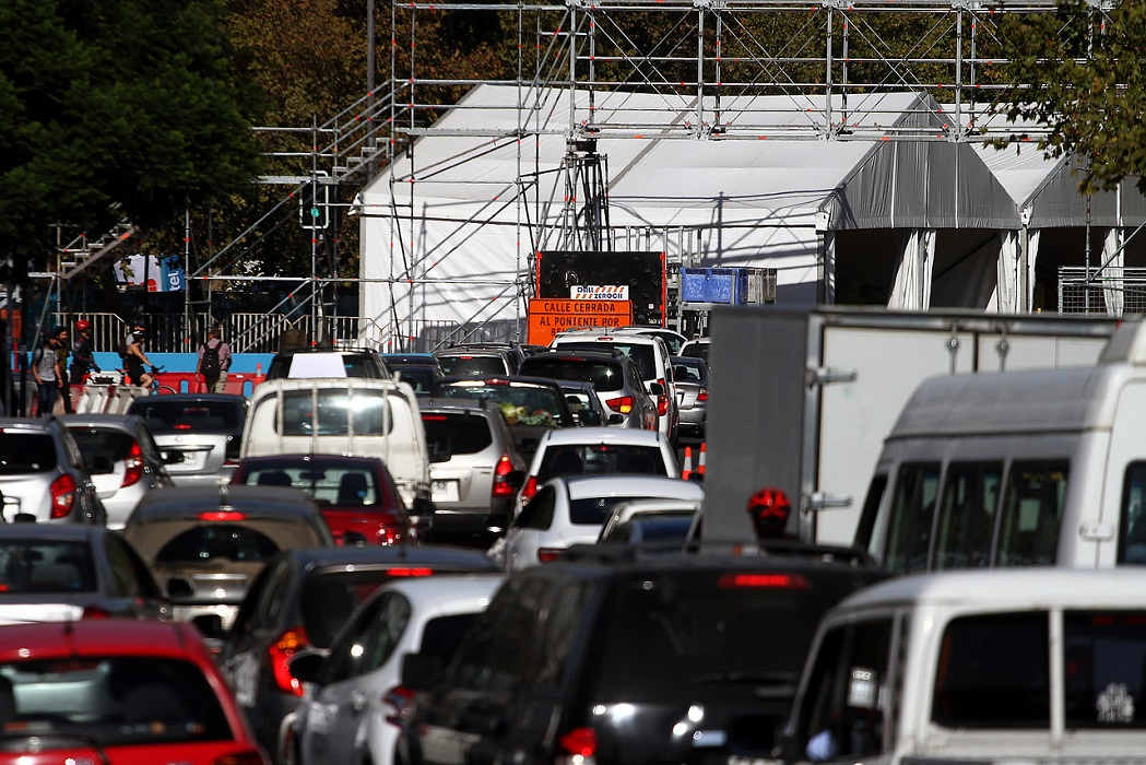 Formula E: Todos los cortes de tránsito en Santiago