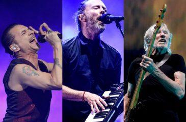 Año de retornos: Depeche Mode, Radiohead y Roger Waters se tomarán los conciertos del 2018