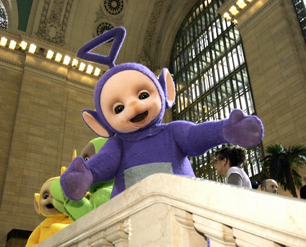 Falleció el actor que interpretaba a Tinky Winky — Teletubbies