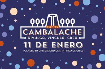 Cambalache: el Primer Festival del Conocimiento se realizará en El Planetario de Santiago
